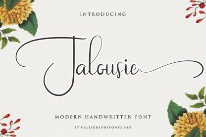 Jalousie Font